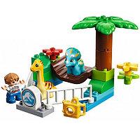 Lego Duplo 10879 Конструктор Jurassic World Парк динозавров, фото 1
