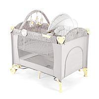 Манеж-кровать-шезлонг Happy Baby LAGOON V2 (Beige), фото 1