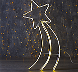 "Фигура неоновая ""Комета"" 70х27 см, 360 LED, 220V, СИНИЙ , фото 3"