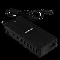 Универсальный блок питания 2 в 1 CROWN MICRO 100 W 220V-прикуриватель