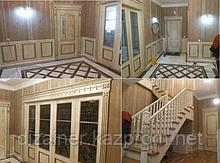 Стеновые и потолочные декор панели из массива, шпона и МДФ - Изготовление на заказ в Астане и Алматы