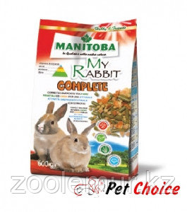 Manitoba MY RABBIT COMPLETE корм для карликовых кроликов 600 гр.