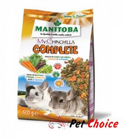 Manitoba MY CHINCHILLA COMPLETE корм для шиншилл  600 гр.