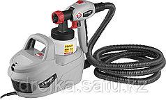 Краскопульт электрический ЗУБР КПЭ-650, 650 Вт, HVLP, 0,8 л, краскоперенос 0-700 мл/мин.