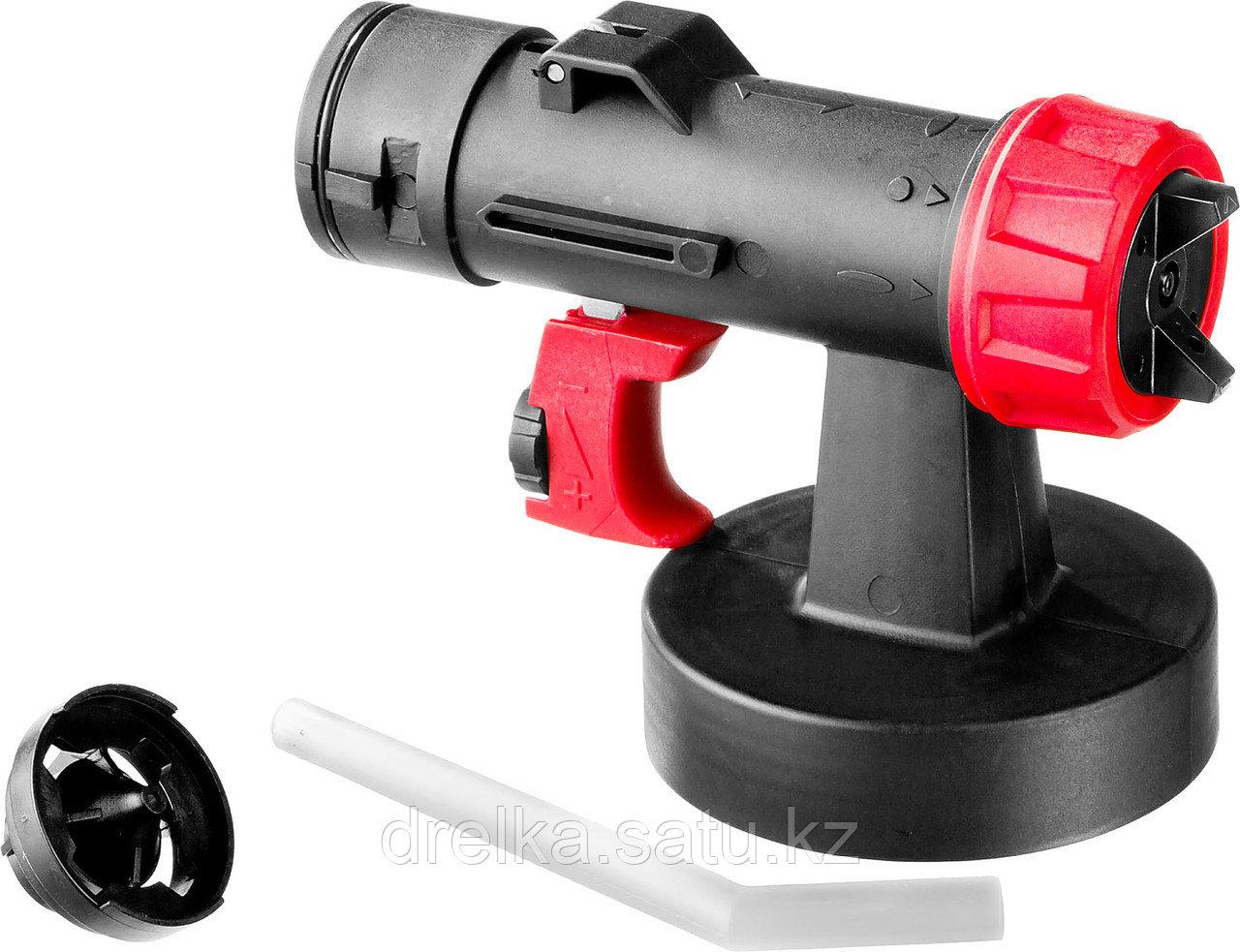 Распылитель для краскопультов электрических ЗУБР КПЭ-Р1, МАСТЕР, тип Р1, в комплекте сопла 1,8 и 2,6 мм.