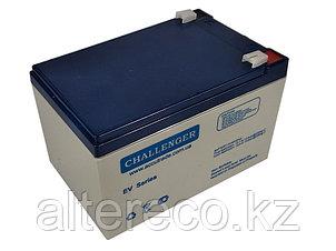 Тяговый аккумулятор Challenger EV12-14 (12В, 14Ач), фото 2