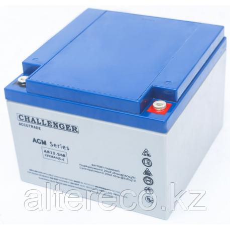 Аккумулятор Challenger EV12-26 (12В, 26Ач)