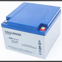 Тяговый аккумулятор Challenger EV12-26 (12В, 26Ач), фото 1