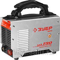 Сварочный аппарат инвертор ЗУБР ЗАС-М3-190, МАСТЕР, М3, 190А, MMA, IGBT, ПВ-35%, 1*220В (мин 180В) , фото 2