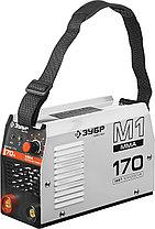 Сварочный аппарат инвертор ЗУБР ЗАС-М1-170, МАСТЕР, М1, 170А, MMA, IGBT, ПВ 30%, принуд обдув, фото 2