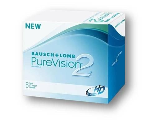 Линзы PureVision 2 - 2шт (1 пара)
