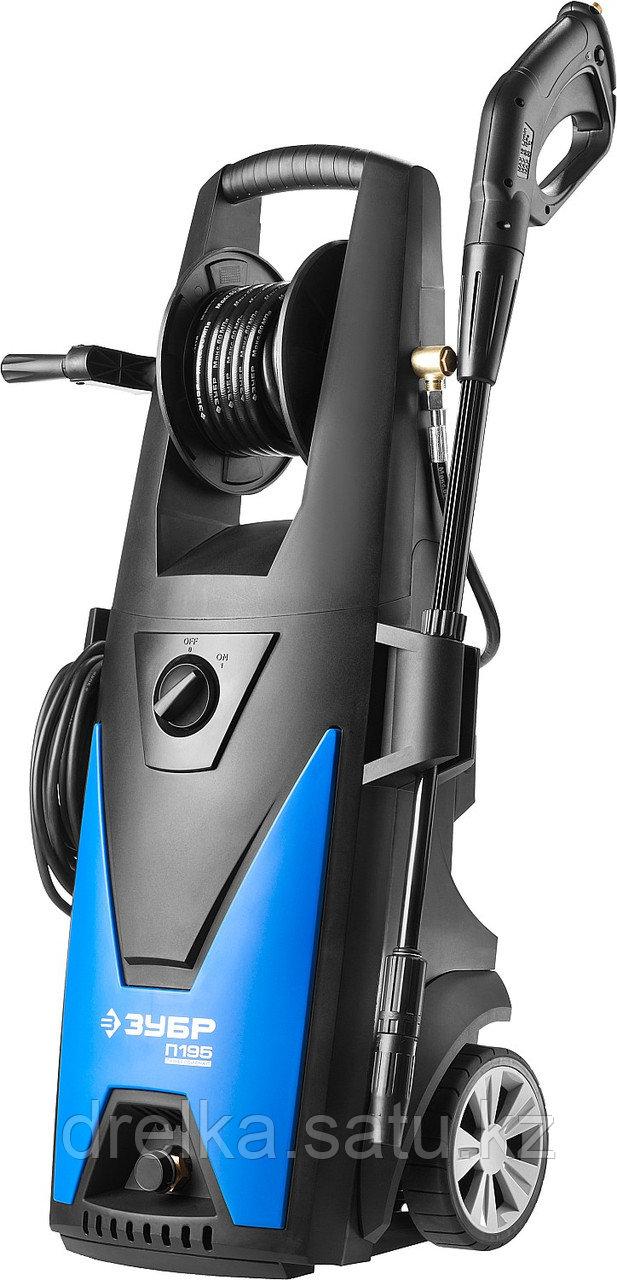Мойка высокого давления ЗУБР АВД-П195, ПРОФЕССИОНАЛ, минимойка, электрическая, 195 Атм, 390 л/ч, 2500 Вт.