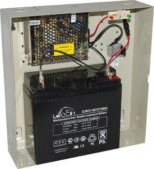 Блок питания AccordTec ББП-80 исп.1, 12V, 8A, АКБ