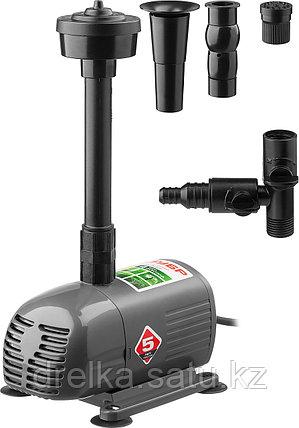 Насос фонтанный ЗУБР ЗНФЧ-25-2.0, для чистой воды, напор 2,0 м, насадки: колокольчик, гейзер, водопад, 38 Вт., фото 2