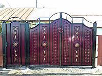 Кованые ворота , фото 1