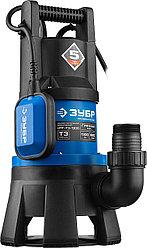 Насос дренажный погружной для грязной воды ЗУБР НПГ-Т3-1300, ПРОФЕССИОНАЛ, Т3 (d пропускаемых частиц до 35мм,