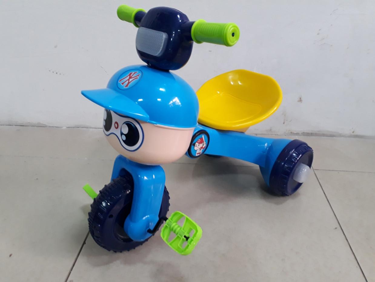 Прикольный трехколесный велосипед для детей