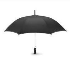 Зонт, Черный/Белый