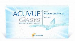 Линзы ACUVUE OASYS 6шт (3 пары)