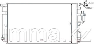 Радиатор кондиционера HYUNDAI IX35/KIA SPORTAGE 10-