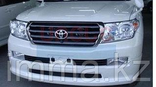 Спойлер бампера Тойота LAND CRUISER 200 07-