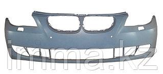 Бампер БМВ E60 07-09 с отверстиями под омыватели и сонары
