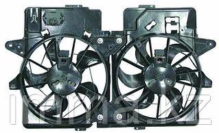 Диффузор радиатора двойной в сборе Мазда TRIBUTE/FORD ESCAPE/MAVERIK 3.0  01-05