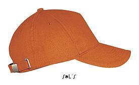 Бейсболка | Sols Long Beach | Оранжевый