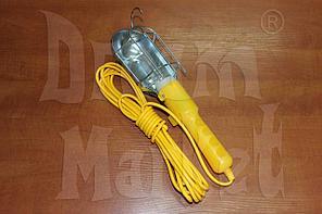 Светильник-переноска, 220 Вольт, 10 метров, пластик