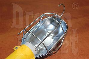 Светильник-переноска, 220 Вольт, 5 метров, пластик