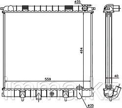 Радиатор LAND ROVER RANGE ROVER (NEW) 4.0/4.6 98-02