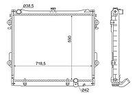 Радиатор Тойота LAND CRUISER 200/LEXUS LX570 2UZ-FE/3UR 07-