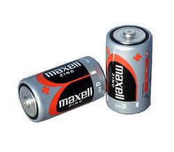 Алкалиновая батарейка Maxell LR20 2 card