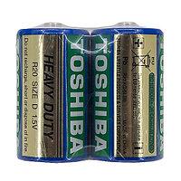 Солевая батарейка TOSHIBA R20 2 shrink