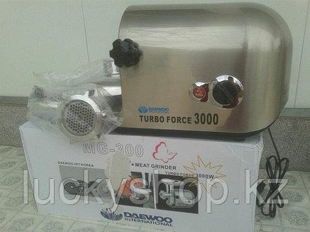 Мясорубку Daewoo Turbo Force с мощностью 3000w, фото 2