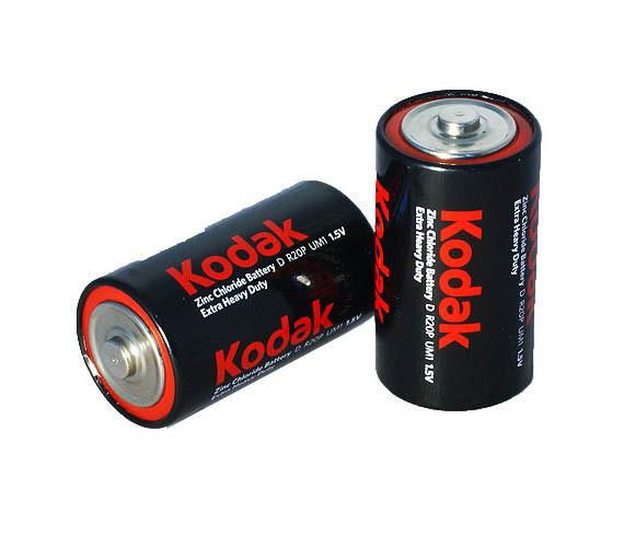 Солева батарейка Kodak Heavy Duty R20 2 shrink