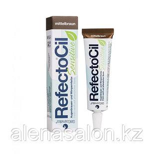 Краска для бровей и ресниц RefectoCil Sensitive каштановый