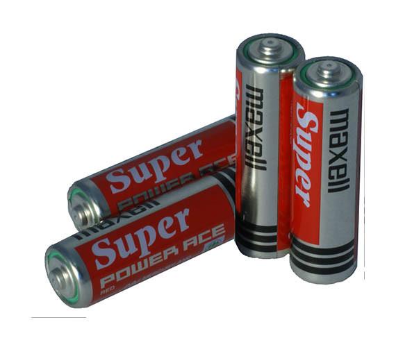 Алкалиновая батарейка Maxell LR6 12 card