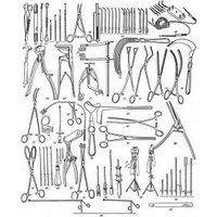 """Набор инструментов для вскрытия и исследования трупов (секционный) НС-""""МИЗ-В"""" (Н-163)"""