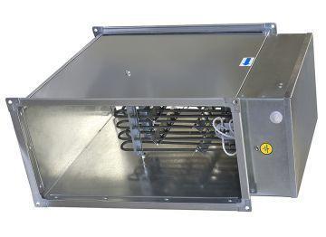 Прямоугольный калорифер для воздуховодов ЭНП 400х200/9