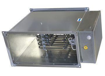 Электрокалорифер для прямоугольных каналов ЭНП 600х300/36