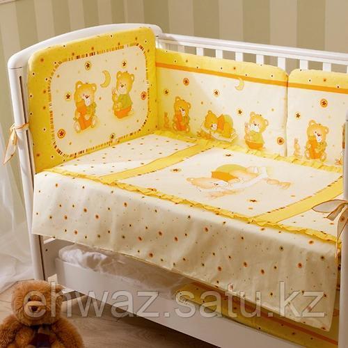 Perina Ника Мишка на подушке бежевый 3 предмета
