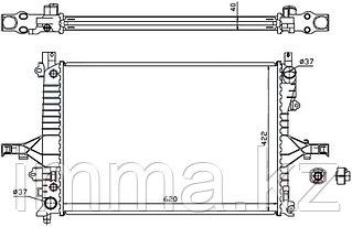 Радиатор VOLVO S60/V70/XC70/S80 98-
