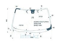 Стекло лобовое в клей ACURA MDX 4D UTILITY 2001-2003