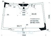 Стекло лобовое в клей ACURA RDX 06-