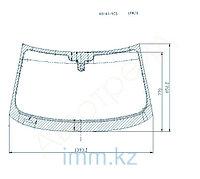 Стекло лобовое в клей Ауди A1 2011- HBK