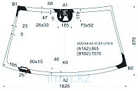 Стекло лобовое в клей AU A8 02-10