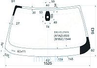 Стекло лобовое в клей БМВ 5-SERIES E60/61 07-09 4/5D