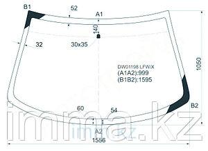 Стекло лобовое в клей CHRYSLER CIRRUS/DODGE STRATUS 95-00 4D