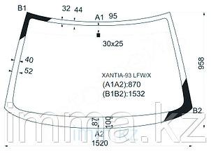 Стекло лобовое в клей CITROEN XANTIA 93-01 5D HBK/WGN
